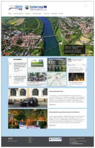 Screenshot Website STS Braunau Simbach