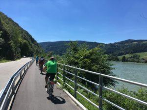 Foto RMOÖ: Neuer Radweg an der Donau im Sinne der Verkehrssicherheit